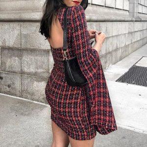 Dress With Hippie Tile Sleeve