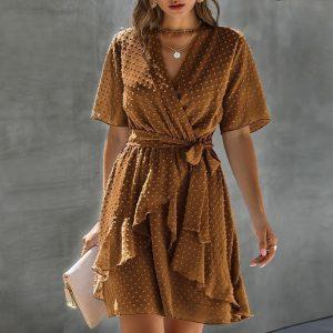 Bohemian Ceremony Short Dress