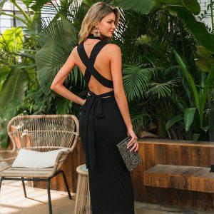 Bohemian chic dress Saint Tropez