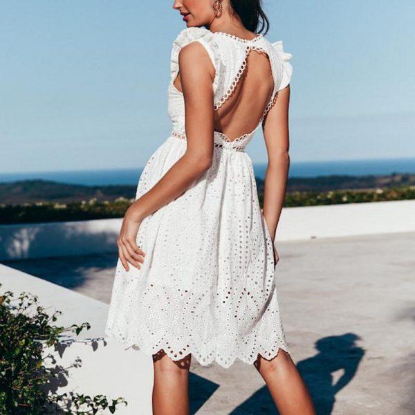 White Chic Short Dress