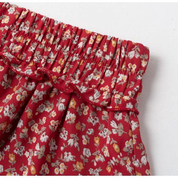 Bohemian Short Floral Skirt