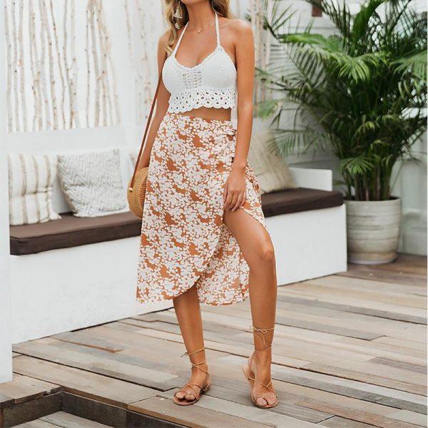 Bohemian Chic Short Skirt
