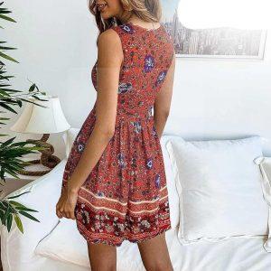 Bohemian dress 70s