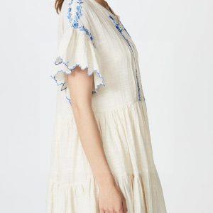 Bohemian chic luxury dress