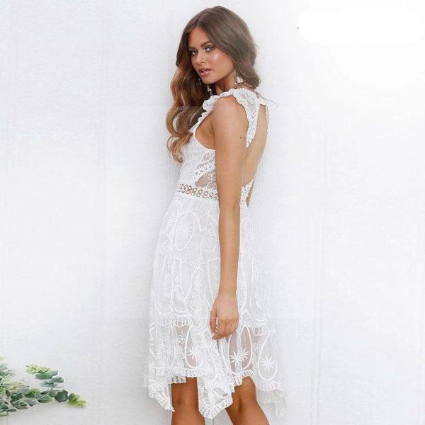 Bohemian chic lace dress