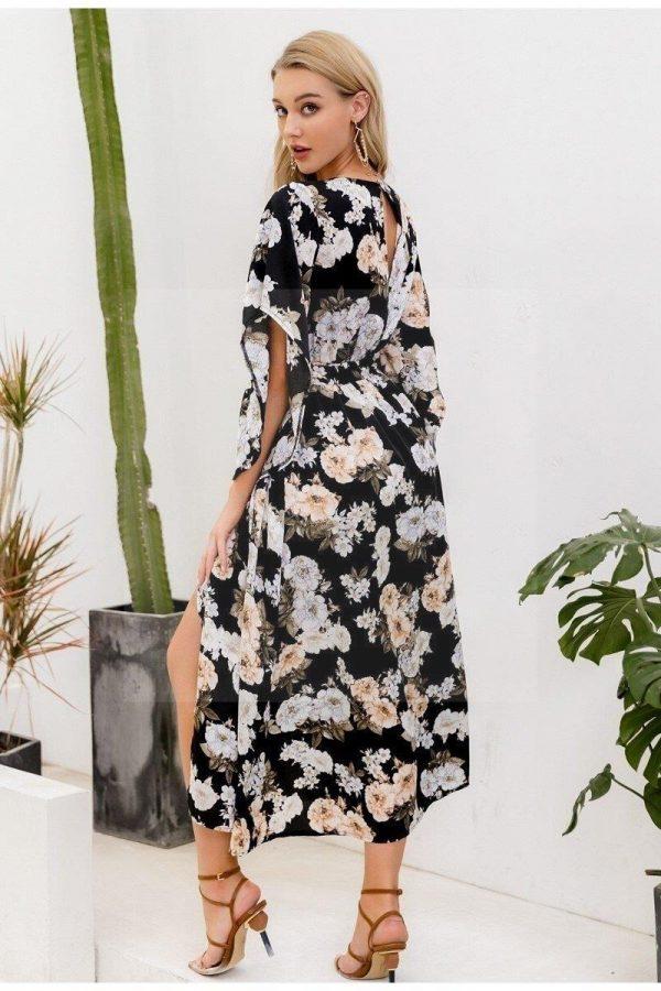 Bohemian gypsy maxi dress
