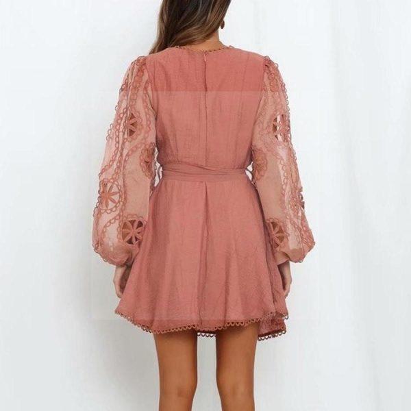 Bohemian chic evening dress